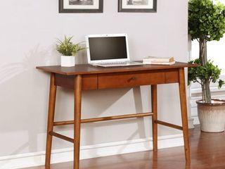 Meade Brown Mid century Modern Desk  Retail 156 99