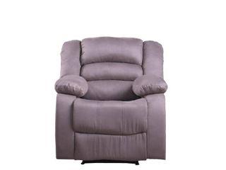 Microfiber recliner  Gray color  Retail 297 49