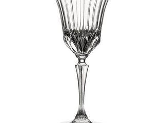 lorenzo Adagio Collection Clear Crystal Wine Glasses