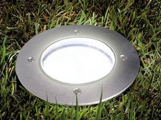 Solar Powered Outdoor Ground Recessed lights