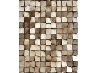 Textured Handed Painted Rugged Wooden Blocks Wall Art  Retail 267 49
