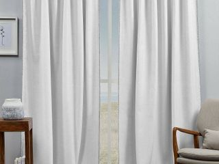 ATI Home Marabel lined Blackout Hidden Tab Top Curtain Panel Pair