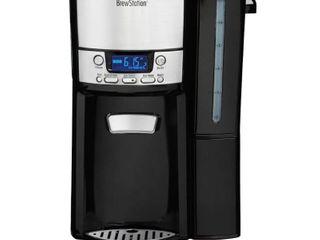 Hamilton Beach BrewStation 12 Cup Programmable Dispensing Coffee Maker   Black