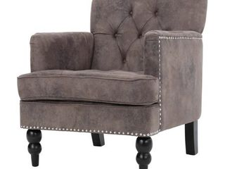 Malone Microfiber Club Chair by Christopher Knight Home  Retail 258 49
