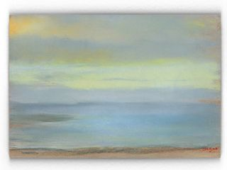 Claude Monet  Marine Sunset  Gallery wrapped Canvas Art   Retail 105 99