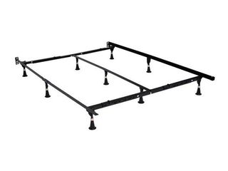 Sleigh twin full bed frame   Frame Only