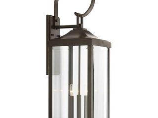Gibbes Street 9 5 inch Three light large Wall lantern   Retail 249 00