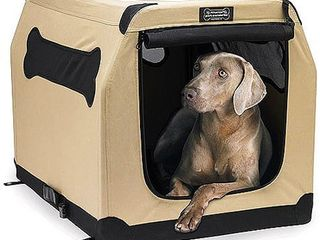 Petnation Indoor Outdoor Pet Home  36 Inch  for Pets up to 70 Pounds   Zipper in Front is Broke
