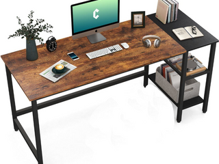 Cubicubi 55  Computer Desk   Espresso   Black