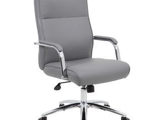 Modern Executive Conference Chair Gray   Boss