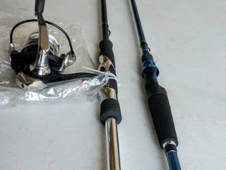 13 Fishing Creed Chrome Fate Spinning Combo  Broken Tip on Rod    Bonus Kalex Xr3 Graphite Rod