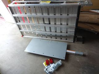 MaxxHaul Aluminum Cargo Carrier With 60  Folding Ramp  53 5  x 29