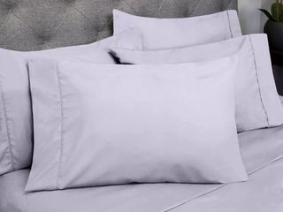 Pack Of 2 Sweet Home Collection Cal King 6 Pc Sheet Set Bedding