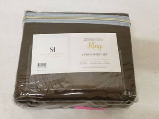 1800 Thread Count Sheet Set a King   Soft Egyptian Quality Brushed Microfiber