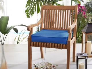 Pack Of Two Sunbrella Indoor  Outdoor 20  Solid Chair Cushion