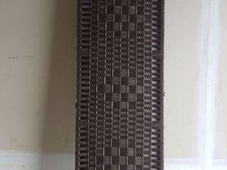 71in large Brown Wicker Artistic Room Devider
