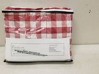 Vhc Brands Bed Skirt 100  Cotten King  78  x 80