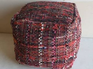 20  x 20  x 20  Fabric Soft Plush Footrest Ottoman
