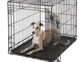 Midwest life Stages Single Door Folding Metal Dog Crate  36 inches by 24 inches by 27 inches