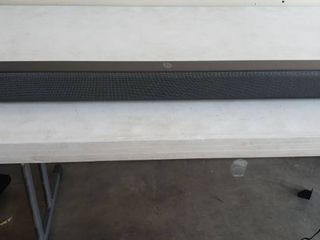 Odine 37  2 0CH Soundbar System With Remote  And Cables  Soundbar Tested And Works With Clear Sound  Remote Did Not Have Batteries