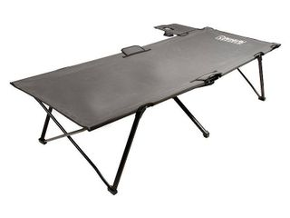 Coleman Extra Wide  Pack Away Camping Cot with Side Table