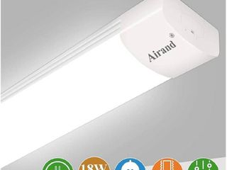 Airand 5000K lED Ceiling Fixture  45 5  long  IP66  Waterproof lED Tube light    Cool White  Tested   Working