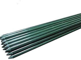 20 Pack   EcoStake Garden Stakes for Plants  Tree Stakes  or Fence Post   Fiberglass Rod  5    1 5  Dia  Rust Free