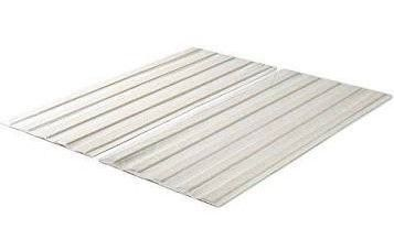Full Size   Zinus Annemarie Solid Wood Bed Support Slats   Fabric Covered   Bunkie Board
