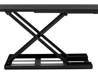 Mount It Height Adjustable X lift Standing Desk Converter   Model   MI 7929