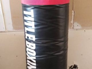 Title Boxing Heavy Bag  4 ft Tall X 16  Wide  for Hanging 120 POUNDS