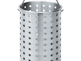 Bayou Classic Perforated Basket   30 Qt  large Dent On The Side