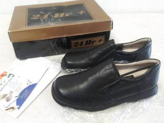 24 hour Comfort   Jason Men s Size 10 WW  Extra Wide   leather loafers