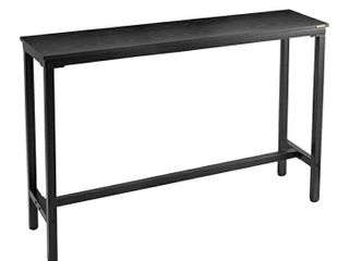 Mr IRONSTONE 47 2a Bar Table Pub Dining Height Table Black Bistro Table