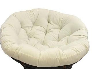 Blazing Needles 44 inch Solid Twill Papasan Cushion