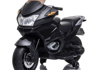 Blazin Wheels 12 Volt Motorcycle Battery Operated Ride On  Black