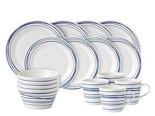 Royal Doulton Pacific lines Porcelain 16pc Dinnerware Set White