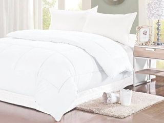 Byourbed White 300 TC Twin Comforter   Oversized Twin Xl Bedding Whote