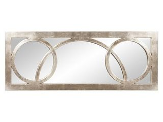 Dynasty Silver Wall Mirror  Retail 184 99