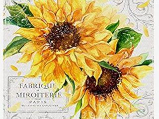 Summertime Sunflowers I by Irina Trzaskos Studio Wall Art Canvas 35   x 35     Sunflowers Design