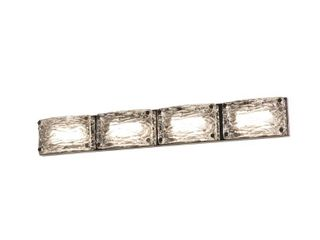 Glacier Polished Chrome lED Vanity light Retail 150 00