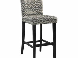 linon Morocco Bar Stool  30 inch Seat Height