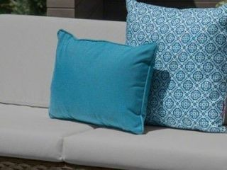 Puerto outdoor patio cushions for loveseat Beige color