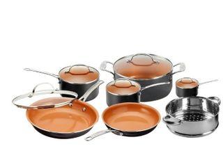 Gotham Steep TI Ceramic 12 Piece Nonstick Cookware Set