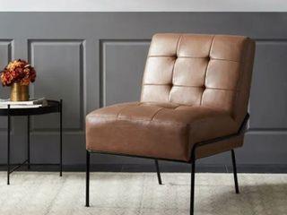 Carbon loft Hofstetler Armless Tufted Accent Chair   Retail 209 99