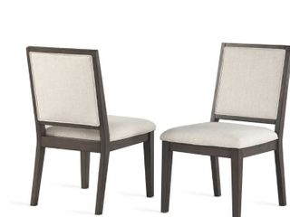 Milano Side Chair by Greyson living  Set of 2  Retail 211 49