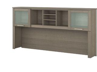 Copper Grove Shumen 72 inch Hutch for l shaped Desk   Ash Finish   Retail 296 49