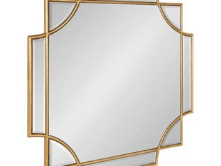 Kate and laurel Minuette Decorative Rectangle Wall Mirror  Retail 174 49