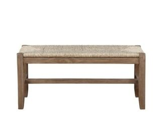 The Gray Barn Enchanted Acre 40 inch Rush Bench Set  MDF   Wood  Retail 225 49