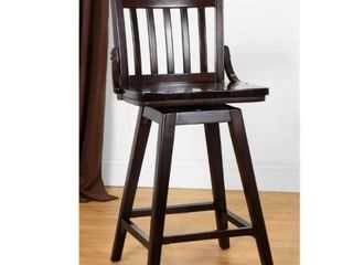 library Swivel Counter Stool