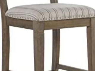 linon home decor counter stool solid wood legs with upholstery